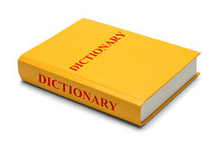 Dictionary Side royalty free stock image