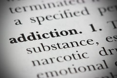 Free Dictionary Word Addiction Stock Images - 14825144