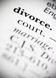 Dictionary Word Divorce Stock Images