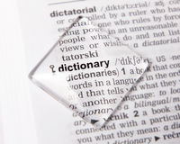 Dictionary Stock Photography