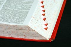 Dictionnaire 1 Photographie stock libre de droits