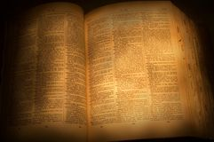 Dictionnaire Photographie stock libre de droits