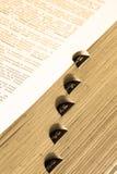 Dictionnaire A Image libre de droits