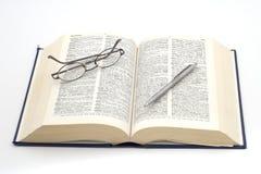Dictionnaire 2 Photographie stock libre de droits