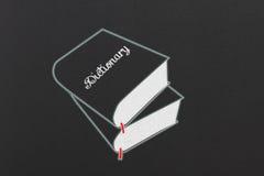 Dictionnaire Photos stock