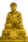 Dicut Chinese monk statue. Chinese monk statue has already dicut and easy to use Royalty Free Stock Image