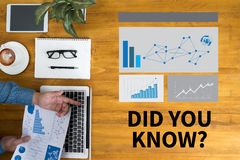 DID YOU KNOW? Stock Photography