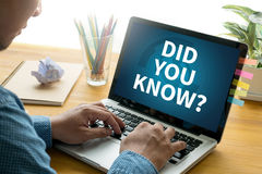 DID YOU KNOW? Royalty Free Stock Image