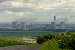 Didcot power station Royalty Free Stock Images