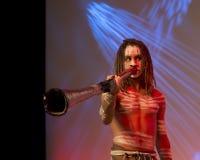 Didgeridoo 免版税图库摄影