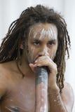 didgeridoo Imagenes de archivo