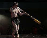 didgeridoo Arkivfoto