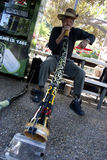 Didgeridoo Man Royalty Free Stock Photo