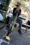Didgeridoo Man Royalty Free Stock Image