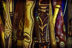 Didgeridoo skog Arkivbilder