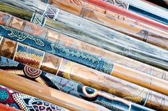 Didgeridoo sur l'affichage Photos libres de droits