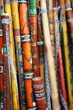 didgeridoos colorul Стоковые Фото