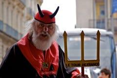 Didi Senft - reis DE Frankrijk 2009 Stock Foto's