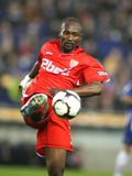 Didier Zokora Sevilla FC player Royalty Free Stock Photos