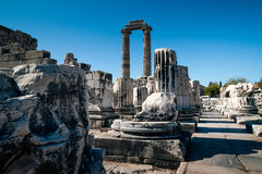 Didim, Apollo Temple Imagem de Stock Royalty Free