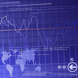 Didital finance background Royalty Free Stock Photo