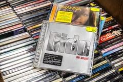 Dido cd album Żadny anioł 1999 na pokazie dla sprzedaży, sławnego Angielskiego piosenkarza i kompozytora, obrazy royalty free