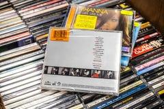 Dido cd album ?adny anio? 1999 na pokazie dla sprzeda?y, s?awnego Angielskiego piosenkarza i kompozytora, fotografia royalty free