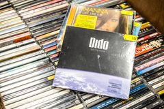 Dido CD album Safe Trip Home 2008 on display for sale, famous English singer and songwriter stock photo