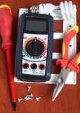 Didtal volt meter Stock Photography