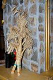 Didukh - Ukrainian People`s guardian, decorate interior of the house. Stock Photo