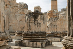Didyma阿波罗寺庙在土耳其 免版税库存图片