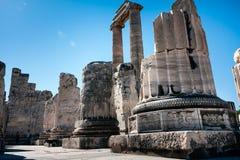 Didyma,土耳其 免版税库存图片