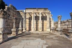 Die älteste Kirche im See von Galiläa lizenzfreies stockbild