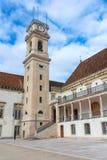 Die älteste Universität in Coimbra Lizenzfreies Stockbild