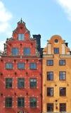 Die ältesten Gebäude in Stockholm Lizenzfreies Stockfoto