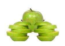 Die Äpfel Lizenzfreie Stockfotografie