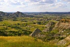 Die Ödländer von North Dakota Lizenzfreies Stockfoto