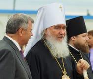 Die Öffnungsereignisse zu Ehren des Tages der Befreiung des Th 536 von Russland vom Mongole-tatarischen Joch in der Kaluga-Region Stockbild