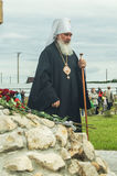Die Öffnungsereignisse zu Ehren des Tages der Befreiung des Th 536 von Russland vom Mongole-tatarischen Joch in der Kaluga-Region Lizenzfreies Stockbild