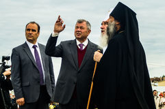 Die Öffnungsereignisse zu Ehren des Tages der Befreiung des Th 536 von Russland vom Mongole-tatarischen Joch in der Kaluga-Region Lizenzfreie Stockbilder