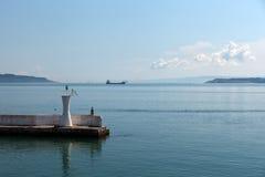 Die Überfahrt durch die Straße von Dardanellen Lizenzfreie Stockfotografie