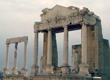 Die überraschenden Ruinen von Plowdiw, Bulgarien Lizenzfreies Stockfoto