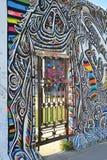 Die Überreste Berlin Walls Stockfotos