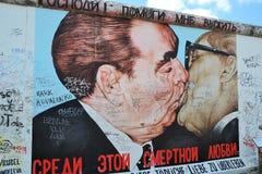Die Überreste Berlin Walls Lizenzfreie Stockfotos