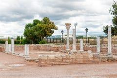 Die Überreste der alten Stadt von Chersonesus Gegründet durch die Altgriechischen Hersones-Ruinen, archäologischer Park Lizenzfreies Stockbild