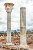 Die Überreste der alten Stadt von Chersonesus Gegründet durch die Altgriechischen Hersones-Ruinen, archäologischer Park Lizenzfreie Stockbilder