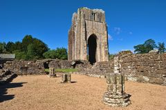 Die Überreste der Shap Abtei Lizenzfreie Stockbilder