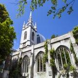 Die Überreste der St.-Dunstan-in-d-Osten-Kirche in London Lizenzfreie Stockfotos
