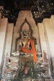 Die Überreste des großen Buddhas Lizenzfreies Stockfoto