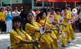 Die 11. Spiele der China Kongfu taiji Kugel (Rouliqiu) Lizenzfreie Stockfotografie